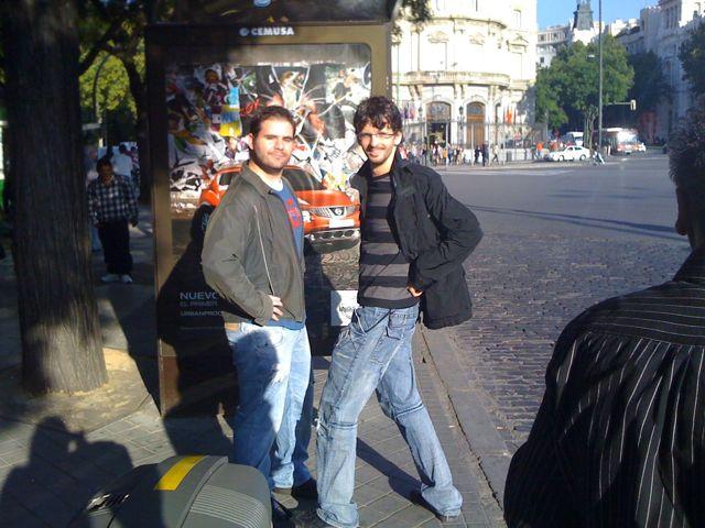 Quedada en Madrid