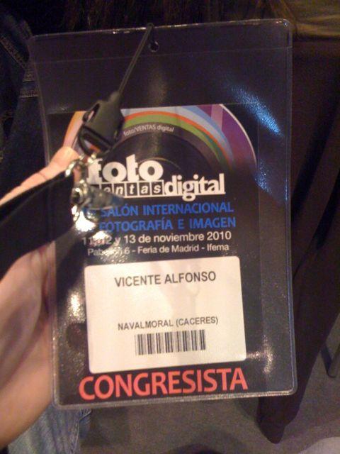 Congresista en fotoventas 2010