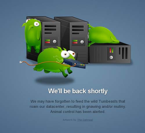 Tumblr mantenimiento